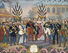 NAPOLEON_III_RECOIT_LES_SOUVERAINS_ET_LES_PERSONNAGES_ILLUSTRES_QUI_ONT_VISITES_L'_EXPOSITION_UNIVERSELLE_DE_1867 (Drapeaux d'Origine) Tags: france french flag vexillology empire napoléon 3 emperor prince imperial