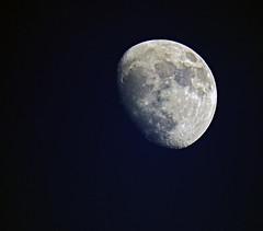 Stasera...la Luna... (Robyn Hooz) Tags: luna stasera moon maria mari sea crateri 600mm cielo sky astronomy