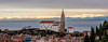 St. Georges Church, Piran (migel.m) Tags: piran slovenia church sea mountains alps adriatic landscape snow