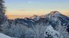 Valle Imagna, Resegone (Saramanzinali) Tags: winter inverno hiver neve snow sunset sun tramonto paesaggio landscape mountain mountains montagne prealpi orobie valle imagna bergamo resegone monte
