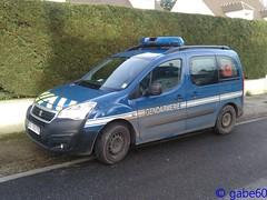 Gendarmerie Nationale (rescue3000) Tags: peugeot partner gendarmerie nationale voiture véhicule national vehicle army military armée militare départementale departemental gruau multiuse light multi use usage léger multiusage