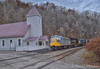 CSX P901-18 (75th Santa Train) in Dante (Travis Mackey Photography) Tags: clinchfield csx santa train dante 800 va church