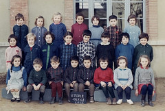 Class Photo (theirhistory) Tags: boy girl children kids school class jacket dress shoes wellies shirt trousers boots form pupils students education