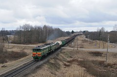 2TE10 in Skaista (berlinger) Tags: skaistaandžāni lettland беларускаячыгунка belarusianrailway latvia train railways locomotive бч bch 2тэ10 2te10