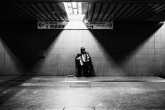 Melody 102.365 (ewitsoe) Tags: poland warsaw monochrome man music musician ewitose canon6dii 50mm street urban cityscape alone lonely intense feeling bnw blackandwhite