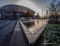 Cardiff Bay 2017 12 08 (Gareth Lovering Photography 5,000,061) Tags: cardiff bay millennium centre capital wales sunrise olympus omdem10ii 14150mm garethloveringphotography