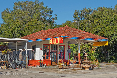 Plant City Standard Oil Service Station