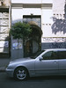 JulyGA645_E200-0009 (dmitriy.marichev) Tags: kiev ukraine 645 fuji fujifilm kodachrome e200 film 120mm 120 mf rangefinder city street fujifilmga645 streetstyle streets kodake200 kodak mercedesbenz mercedes w210