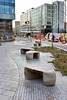 building the future (Harry Halibut) Tags: 2017©andrewpettigrew allrightsreserved imagesofsheffield images sheffieldarchitecture sheffieldbuildings colourbysoftwarelaziness south yorkshire charter row square seats planting sheff1712185214