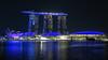 Marina Bay Sands hotel at night (Jackie & Dennis) Tags: marinabaysands night litup singapore