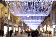 Illuminations de Noël -EXPLORE (Patatitphoto) Tags: tree christmas noël nuit night bokeh sapin lumière light illuminations toulouse street photography