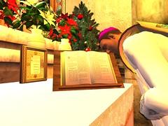 Mass for Christmas (Archdiocese of Lepanto) Tags: firestormsecondlife lepanto church slchurch catholic slcatholic materdolorosa archdioceseoflepanto virtualchurch christmas masssecondliferegionrothkosecondlifeparcelcatholicchurcharchdioceseoflepantomaterdolorosachurchsecondlifex54secondlifey11secondlifez27
