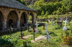 Camposanto (SantiMB.Photos) Tags: 2blog 2tumblr 2ig iglesia church románico romanesque cementerio cemetery geo:lat=4252489531 geo:lon=082565233 geotagged erilllavall cataluna españa esp