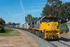 9306 at Numurkah (Henry's Railway Gallery) Tags: xr557 xr555 xrclass emd diesel clyde exxclass rebuilt pacificnational pn 9306 containertrain freighttrain tocumwal numurkah
