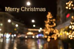 Merry Christmas to my flickr followers (o_schopfer) Tags: noël bokeh météo nightshot nuit paysageurbain photodenuit pluie rain urbanexploration