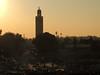 Bye, bye Marrakech (Shahrazad26) Tags: koutoubia jemaaelfna marrakech marokko maroc morocco sunset coucherdusoleil zonsondergang