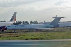 Tupolev TU-154 B.2 RA-85851 Rossiya (EI-DTG) Tags: planespotting aircraftspotting moscow dme domodedovo 17sep2015 tupolev154 tu154 trijet ra85851 rossiya malev halcu