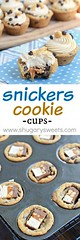 Snickers Cookie Cups (alaridesign) Tags: snickers cookie cups