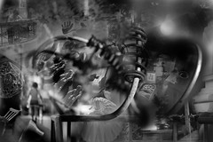 Tpoytibm (D.W. /.:) Tags: moderndaysurrealist surrealismo modernsurrealism surreal moderndaysurrealism blackandwhitesurreal bwsurreal surrealart surreallife surrealartists surrealism manipulatedphoto manipulate manipulation manipulator thetimemachine lostinspace space chairs chair hand foot reflection timetravel dreams dream visual virtual visualart visions virtualworld artisan art artist modernart bwart riddle hss utata
