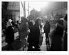 Crosswalk, Upper East Side (G Dan Mitchell) Tags: manhattan newyork city state upper eastside lexington blackandwhite monochrome people walkers sidewalk cross walk street urban winter cold