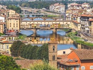 Pont Del Vecchio-Florence-Toscane