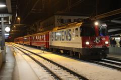 RhB 616, Klosters Platz, 25-11-17 (afc45014) Tags: rhb 616 ge44 klostersplatz rhätischebahn