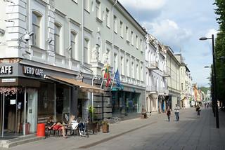 DSC_5676 Savanorių pr. in Kaunas - Fussgängerzone mit Cafés und Geschäften - Zentrum  - Zentrum der Stadt / Altstadt.
