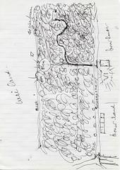 Renkum van Schaapsdrift 16 naar bij de 4 bomen locatie schuilhut Henk van Gelder 1940 1944 Tekening Henk van Gelder 2016 Echos 2017 2 (Historisch Genootschap Redichem) Tags: renkum van schaapsdrift 16 naar bij de 4 bomen locatie schuilhut henk gelder 1940 1944 tekening 2016 echos 2017 2