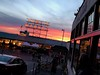 Sunset at the Fish Market (kkilli) Tags: seattlesunset pikeplacemarket eyecatching