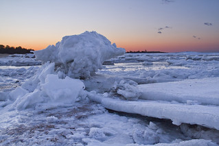 Ice at Paine's Creek