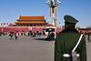 Guarding TianAnMen (█ Slices of Light █▀ ▀ ▀) Tags: tiananmen square 天安門廣場 gate 天安門 天安门 army soldier beijing 北京 china 中国 panasonic lumix zs100 tz100 中國