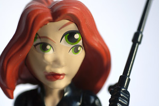 Black Widow Double Exposure Macro Mondays