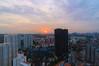 Orange (OzGFK) Tags: asia hdb housingdevelopmentboard nikond90 singapore skyvilleatdawson skyvilledawson tokinalens cityscape clouds dusk evening heartlands longexposure night rooftop skyline suburbs sunset viewingdeck queenstown orange cloudscape