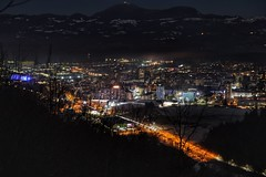 Hometown (slo.Metallc) Tags: velenje hometown night landscape outdoor cityoflights lights nightview hiking koželj citylights
