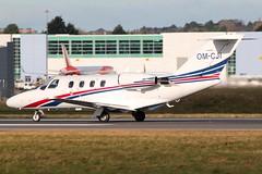 OM-CJI-LUTON 08 DEC 2017 (TW Aircraft Photos) Tags: omcji luton