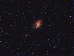 Crab Nebula - Sony IMX224 (CajunAstro) Tags: crab crabnebula nebula m1 stars space telescope televue astrophotography astronomy sky astrometrydotnet:id=nova2355099 astrometrydotnet:status=solved