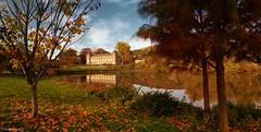 castle Autumn - 4242 (YᗩSᗰIᘉᗴ HᗴᘉS +12 000 000 thx❀) Tags: castle landscape autumn automne season hensyasmine yasminehens belgium belgique water waterscape