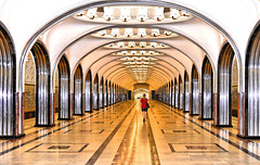 infinity (poludziber1) Tags: city colorful cityscape color colorfull capital street streetphotography summer architecture abstract people travel metro underground subway red moscow moskva russia challengeyouwinner cyunanimous