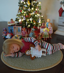 Iplehouse Judith...Sleeping Christmas Angel (1930sgirl) Tags: iplehouse bid judith bjd yosd spampy christmas peach gold