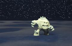 marshmallow (LegionCub) Tags: frozen animated movie funko mysterymini vinyl figure monster disney toy character anna elsa olaf snow