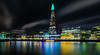 The Shard, London 2 (Paul Parkinson LRPS (parkylondon)) Tags: 2017 december england europe greaterlondon london riverthames unitedkingdom longexposure shard shardlights