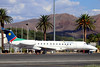 Air Namibia / Westair Aviation ERJ-145 V5-ANI parked at ERS/FYWE (Jaws300) Tags: v5ani embraer regionaljet commuter plane air namibia airnamibia westair aviation erj145 v5win parked ers fywe westairaviation embraer145 palm palms trees parking ramp apron stand terminal gate remotestand windhoek eros airport downtown erosairport flying general blus skies sky bluesky blueskies regional jet rj erj resting hangar