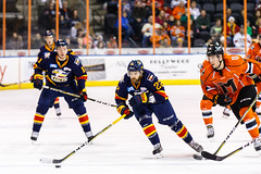 "Kansas City Mavericks vs. Colorado Eagles, December 16, 2017, Silverstein Eye Centers Arena, Independence, Missouri.  Photo: © John Howe / Howe Creative Photography, all rights reserved 2017. • <a style=""font-size:0.8em;"" href=""http://www.flickr.com/photos/134016632@N02/24278163067/"" target=""_blank"">View on Flickr</a>"