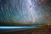 The Hidden Splendours of Uruguay (Indrasish Banerjee) Tags: milkyway sky stars trails nightscape longexposure landscape beach glowing fluorescence blue nature uruguay latam
