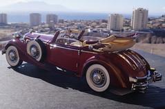 1937 Horch 853 diecast 1:24 made by CMC (rigavimon) Tags: diecast miniaturas 124 1937 horch antofagasta cmc autosaescala