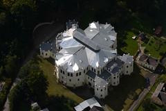 silver roof (Luftknipser) Tags: land renemuehlmeier luftbild tschechien aerial airpicture cz fotohttprenemuehlmeierde luftaufnahme mailrebaergmxde vonoben gebäude dachkonstruktion glanz tachau