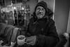 Do you want a cup of coffee? (AlphaAndi) Tags: monochrome mono menschen menschenbilder people personen portrait portraits urban trier tiefenschärfe wow dof deepoffield fullframe face gesicht vollformat city closeup blackandwhite blackwhite bw bokeh bokehlicious sony streetshots streets schwarzweis streetshooting streetportrait street sw streetphotographie
