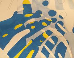 2017.09.08 Canopy (WIP - detail) (Julia L. Kay) Tags: shadow shadows silhouette juliakay julialkay julia kay artist artista artiste künstler art kunst peinture dessin arte woman female sanfrancisco san francisco daily everyday 365 botanical botany plant foliage splitleaf philodendron splitleafphilodendron sundances ink inks watercolor schminke aerocolor paper brush liquitex