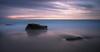 Waipatiki trio (lizcaldwell72) Tags: longexposure hawkesbay newzealand sunset napier cloud water sky beach waipataki light
