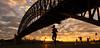 Sydney Halfmarathon (l SM Photography l) Tags: carrera corrida halfmarathon mediamaraton run runner sydney sunrise woman